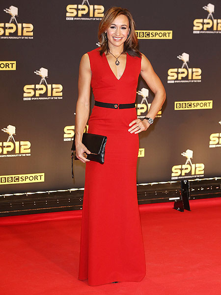 Heptathlete Jessica Ennis attends the BBC Sports Personality of the Year Awards on Sunday