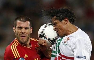 Alvaro Negredo and Bruno Alves