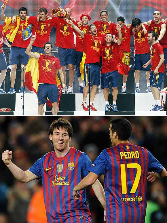 Soccer 2012: Of Messi, Barca and Spain