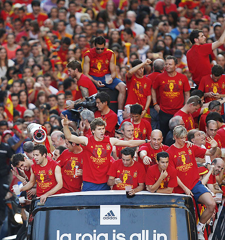 Spain won back-to-back European Championships