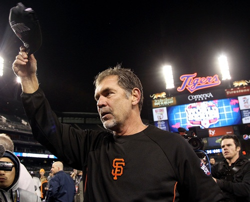 Manager Bruce Bochy