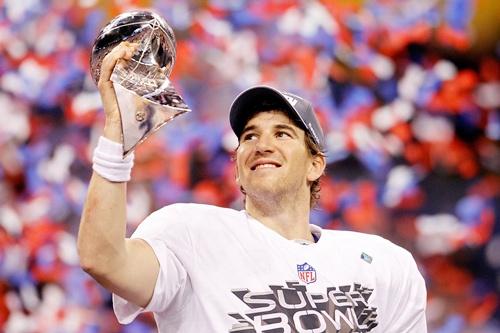 Quarterback Eli Manning