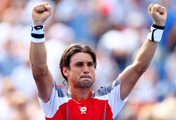 Ferrer won 76 matches, seven titles