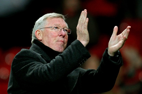 Sir Alex Ferguson the Manchester United manager