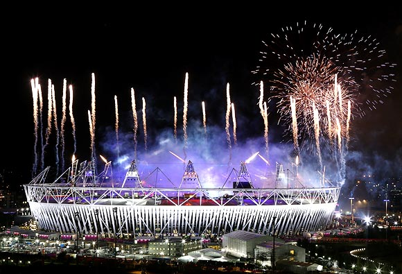 London Olympics an unforgettable tapestry of tears, drama