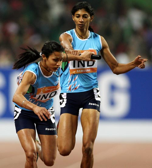 Ashwini Chidananda Akkunji (right) and Mandeep Kaur
