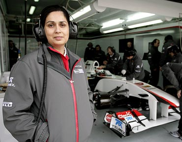 Sauber Formula One team Monisha Kaltenborn