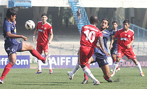 I-League clash