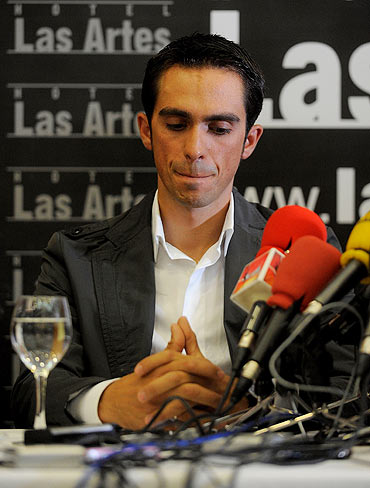 Contador mulls appeal over doping ban