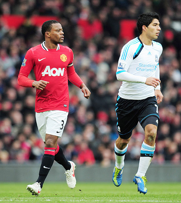 'Evra shouldn't have done that'