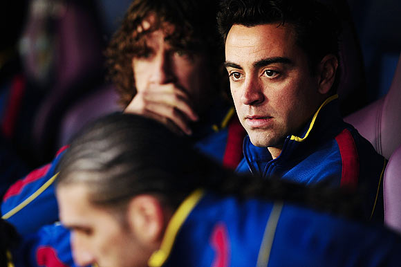 Xavi's fitness a concern for Guardiola