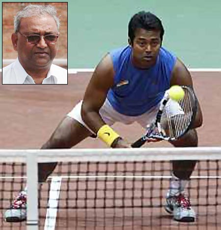 Leander aspires to overtake his father