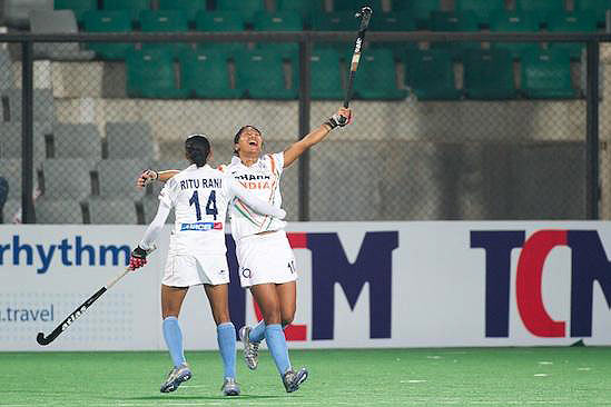 Indian eves thrash Canada 4-1