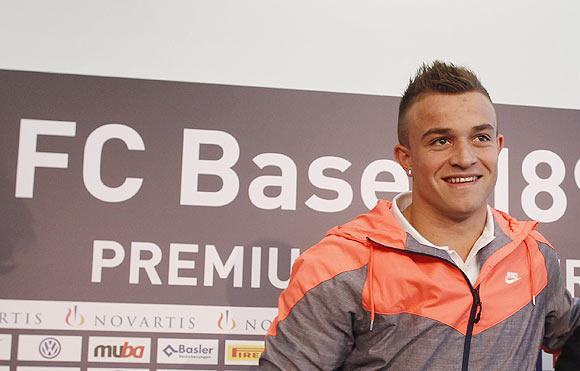 FC Basel's Xherdan Shaqiri