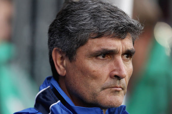 FC Dnipro manager Juande Ramos