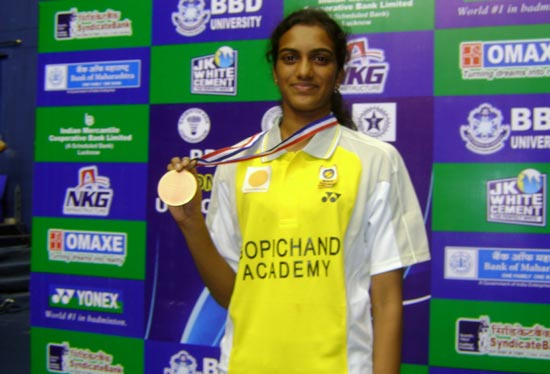 'She has the potential to make big strides in world badminton'
