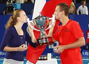 Petra Kvitova and Tomas Berdych