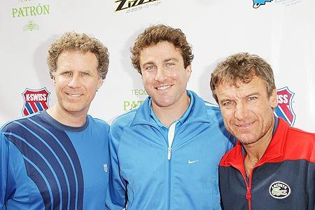 Mat Wilander (extreme right)