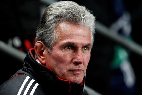 FC Bayern Muenchen Head Coach Jupp Heynckes