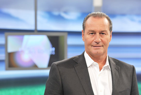 Dutch football manager Huub Stevens