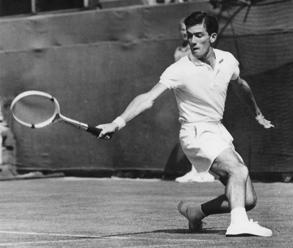 Australian tennis player Ken Rosewall