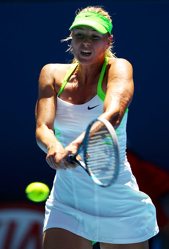 Merciless Sharapova in control