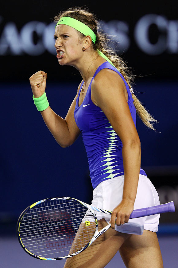 Azarenka silences mockers with ruthless demolition