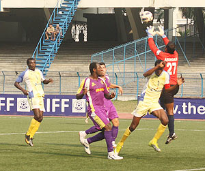 I-League action