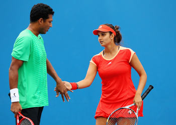 Mahesh Bhupathi and Sania Mirza