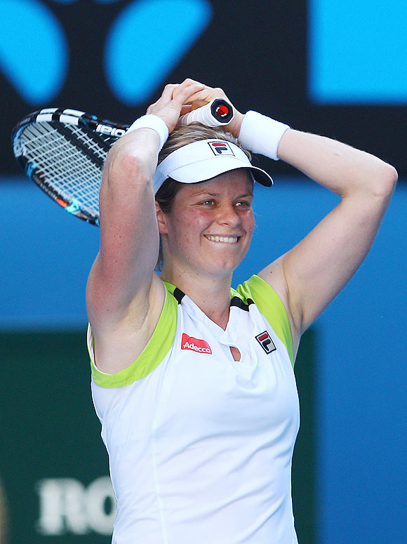 Clijsters keeps hope alive of another Grand Slam