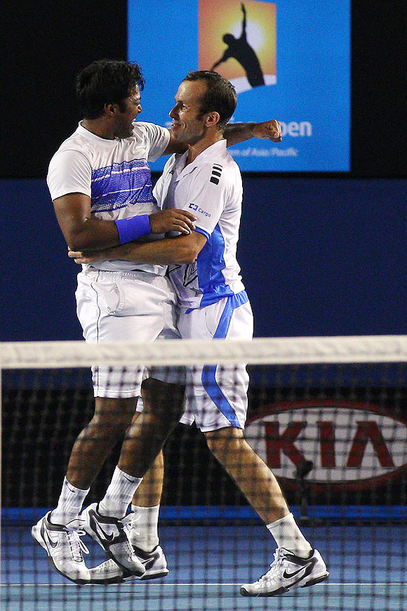 Paes completes career Slam of men's doubles titles
