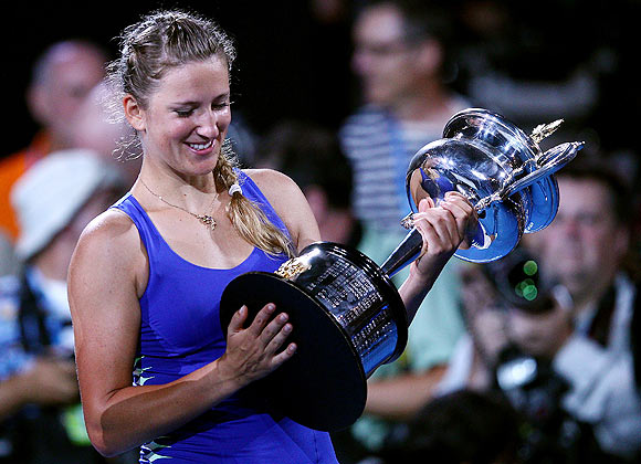 It is Azarenka's time for sure