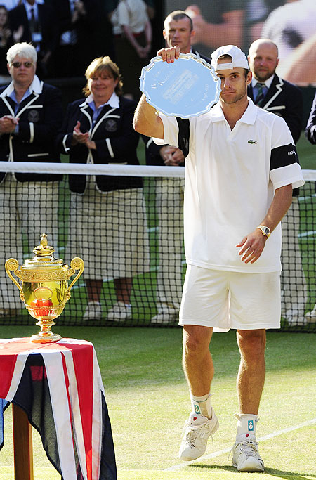 'Roddick was the alpha male in our generation'