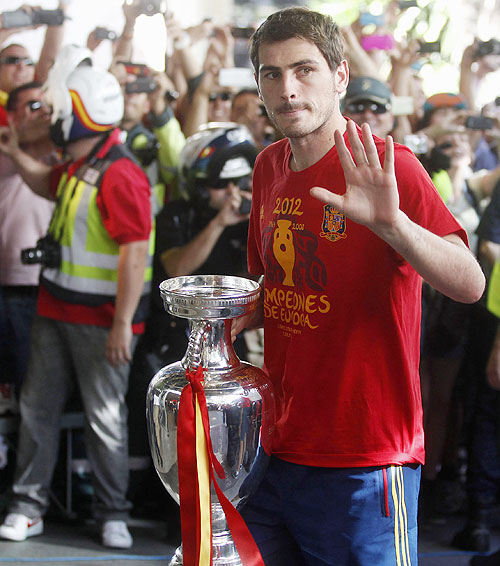 PHOTOS: Spain celebrates Euro triumph