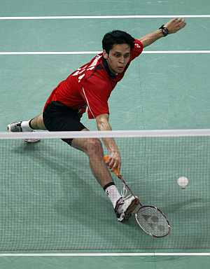 Rediff Sports - Cricket, Indian hockey, Tennis, Football, Chess, Golf - Sudirman Cup: India lose to Indonesia