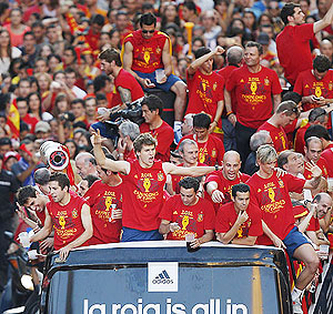 Spain's football team