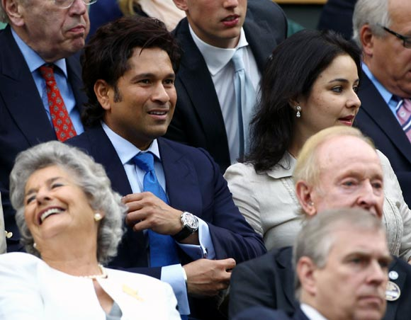 Tendulkar's day off in London