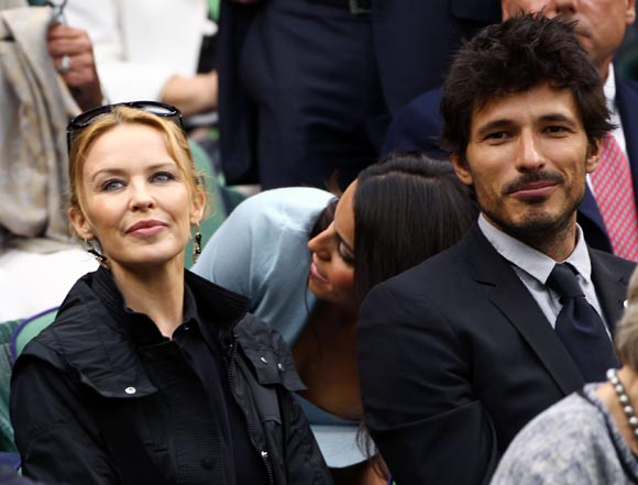 Kylie adds spice to Wimbledon