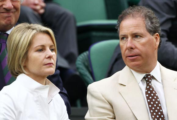 British Royals enjoy Wimbledon