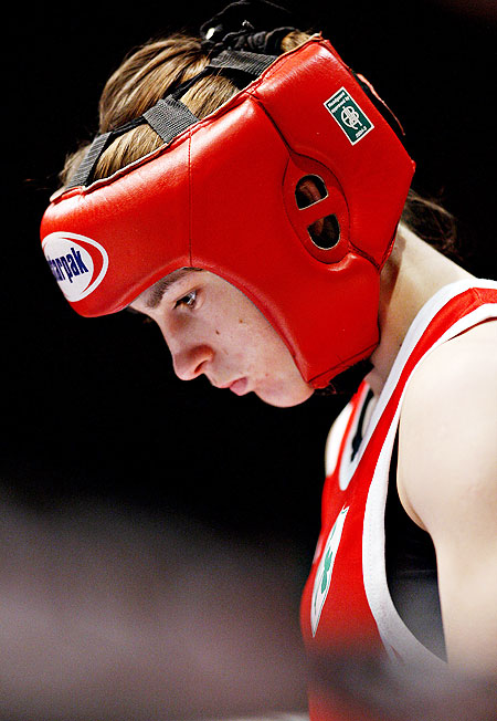 Katie Taylor of Ireland