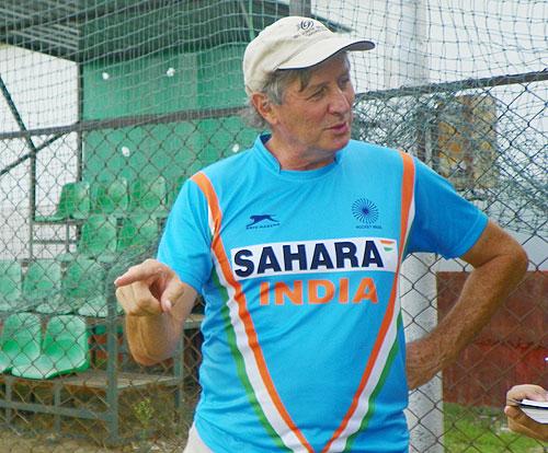 India hockey coach Michael Nobbs