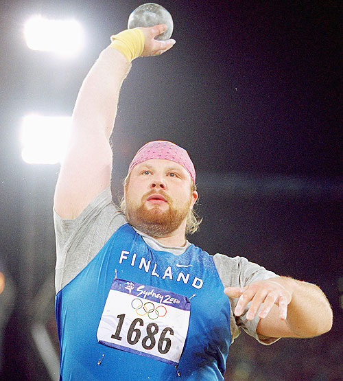 Arsi Harju of Finland