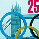 London Olympics 2012 schedule July 25