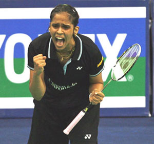 Badminton Players http://www.rediff.com/sports/report/london-olympics-india-jwala-gutta-saina-nehwal-ahswini-diju-kashyap/20120723.htm