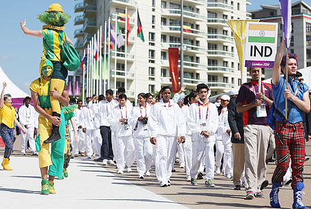 PHOTOS: Indian athletes gearing up for the Games