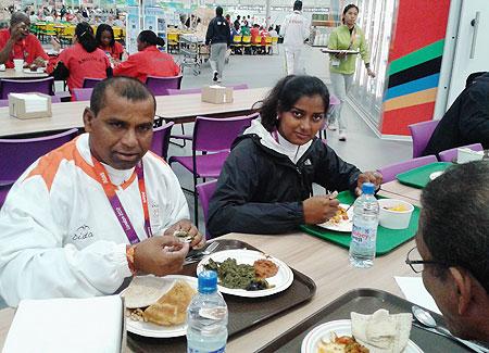 Limba Ram with Deepika Kumari