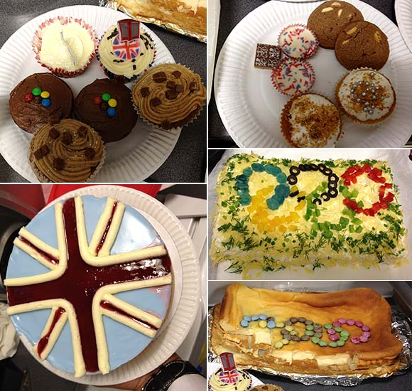 London's premier hotel celebrates Olympics with pastries