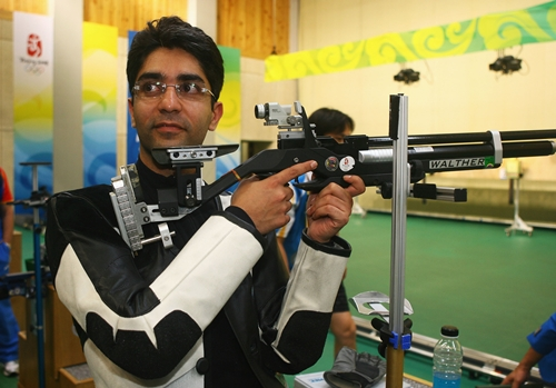 Abhinav Bindra, India's only solo Olympic gold medalist supported by Mittal Champions Trust