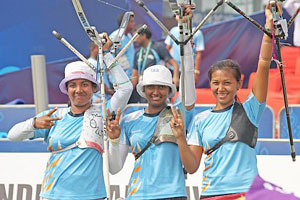 The Indian trio have upset Korea in the past