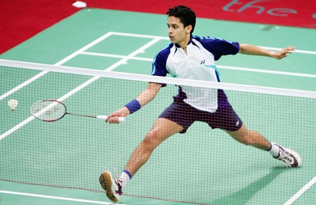 Rediff Sports - Cricket, Indian hockey, Tennis, Football, Chess, Golf - Kashyap fights back to march into Korea Open semi-finals